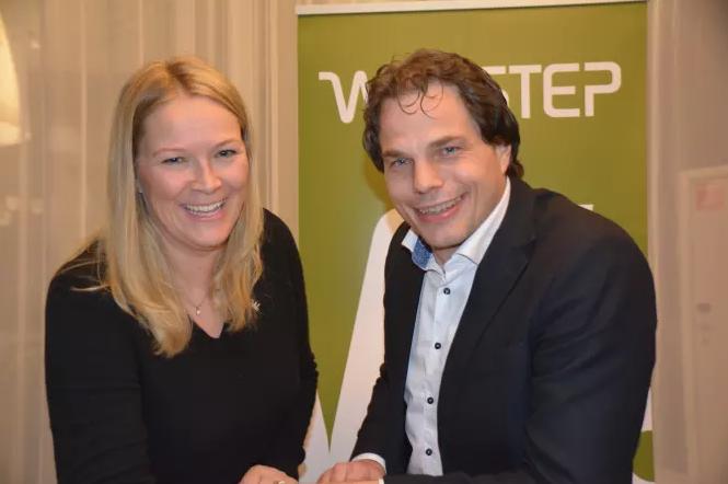 Marianne Styrman og Erik Fossum Færevaag