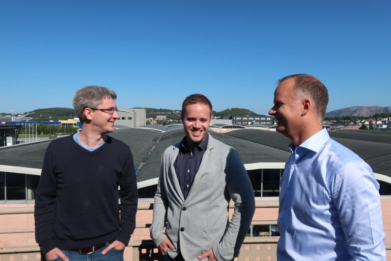 Jan Terje Egeland, Håkon Hapnes Strand og Geir Jåthun Hindenes