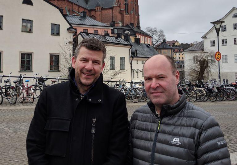 Eje Thorarinson og Patrick Larsson
