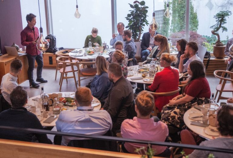 Per Ivar Selvaag holder frokostforedrag