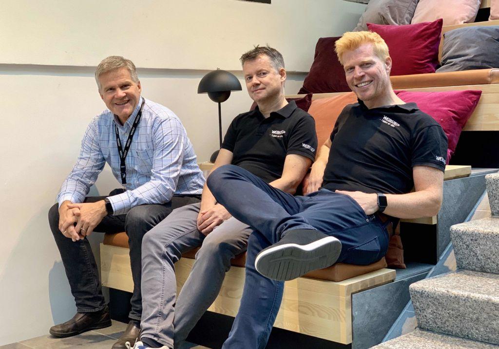 Morten Rudlang, Anders Bjørnestad og Arne Solheim