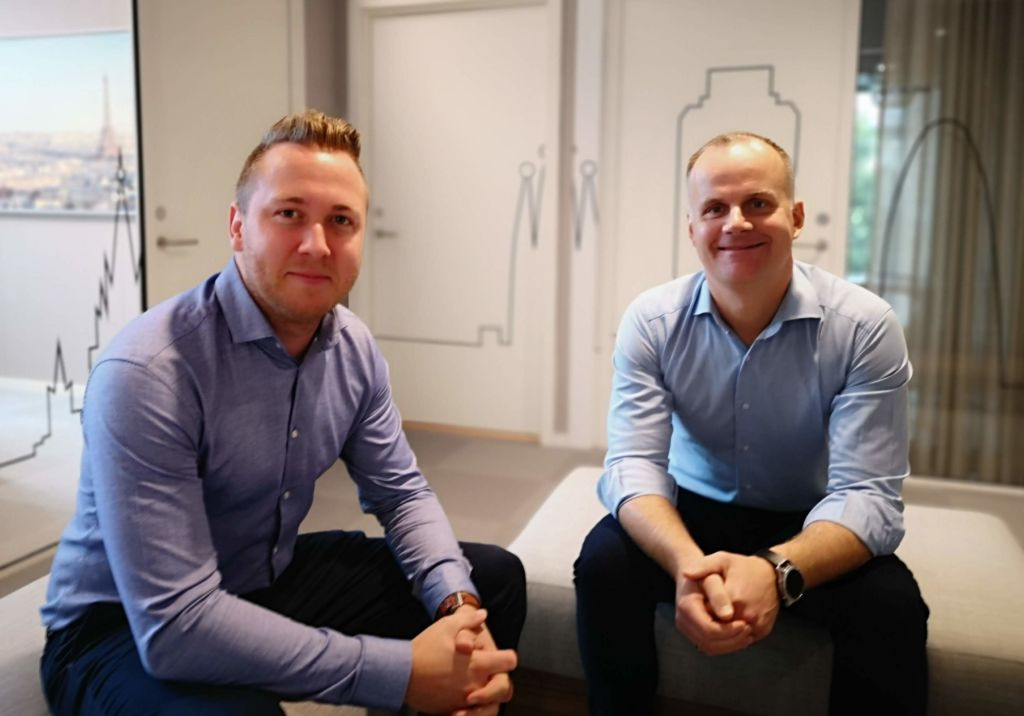 Sjur Gran Sørskår og Geir Jåthun Hindenes