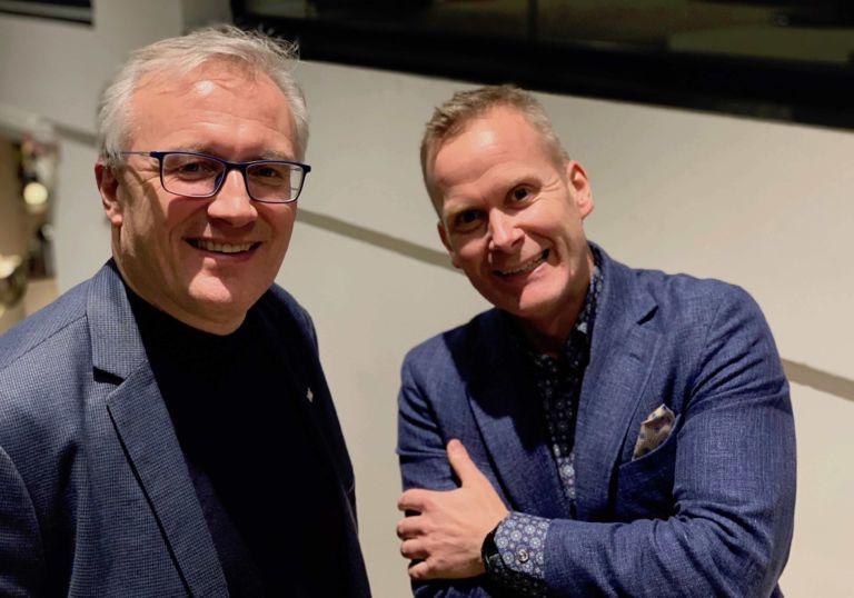 Arnt Roger Aasen og Otto Backer Solberg