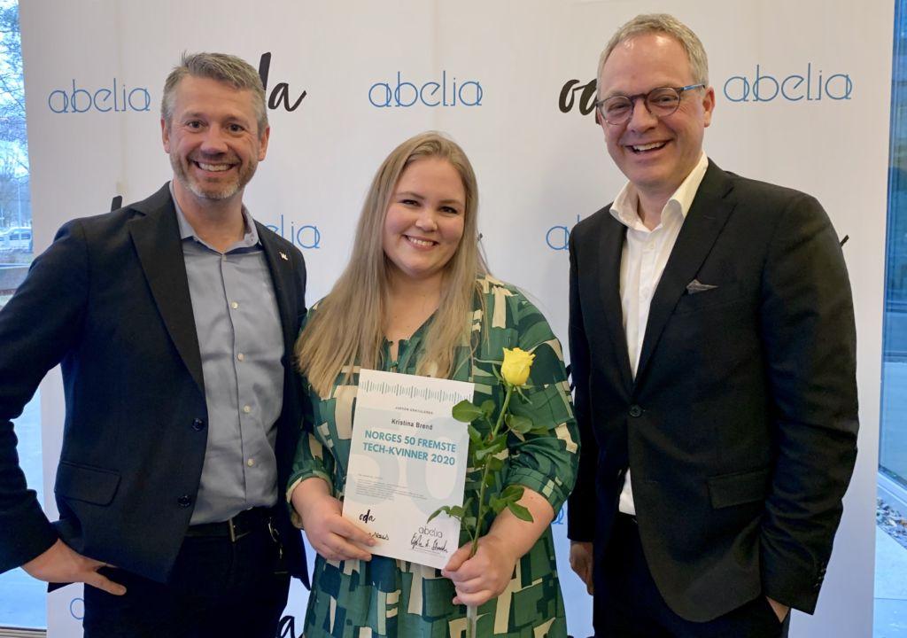 Norges 50 fremste tech-kvinner 2020