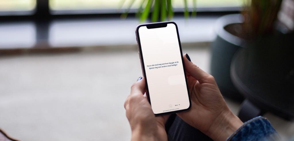 Appen Fuelbox vises på en mobil
