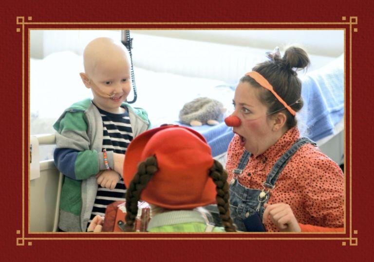 Julegavekalender fra Webstep til Sykehusklovnene